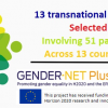 13 transnational projects selected